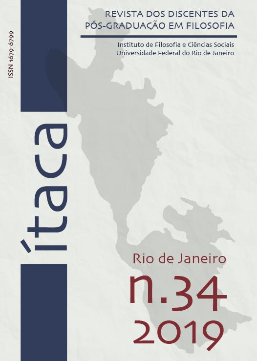 Ítaca - Revista dos discentes da Pós-Graduação em Filosofia da UFRJ.