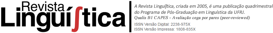 Revista LinguíStica