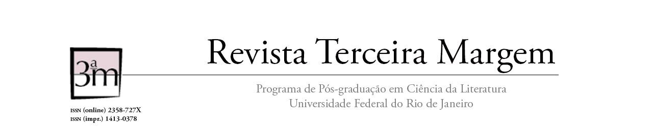 Revista Terceira Margem, Revista do Programa de Pós-Graduação em Ciência da Literatura da UFRJ
