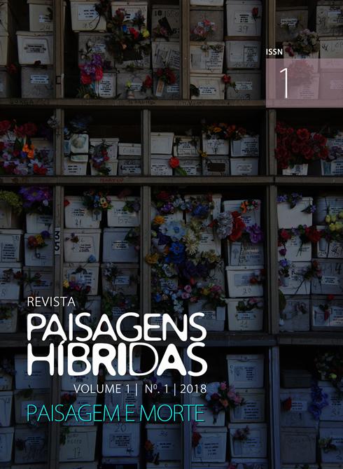 Capa da Revista Paisagens Híbridas Volume 1 nº 1 de 2018