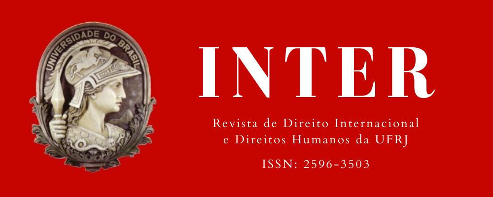 INTER: REVISTA DE DIREITO INTERNACIONAL E DIREITOS HUMANOS DA UFRJ